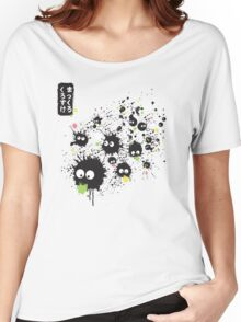 Makkuro Kurosuke ink Women's Relaxed Fit T-Shirt
