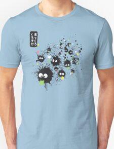 Makkuro Kurosuke ink Unisex T-Shirt