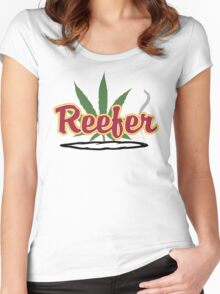 Reefer Women's Fitted Scoop T-Shirt