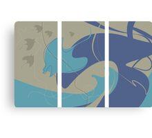 Manta Symphony Canvas Print