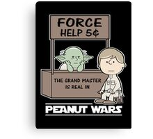 Peanut Wars 2 Canvas Print