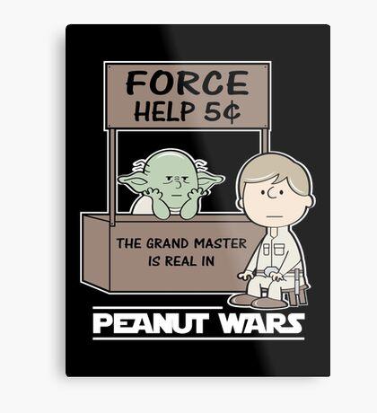 Peanut Wars 2 Metal Print