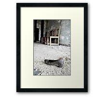 Huarache , Asylum in CT Framed Print