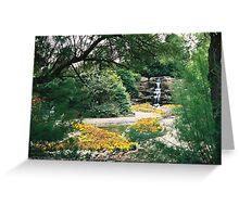 Rock Gardens - Skegness Greeting Card