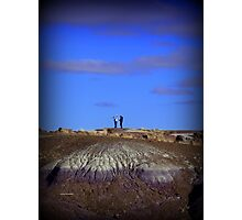 Humans and Nature Photographic Print
