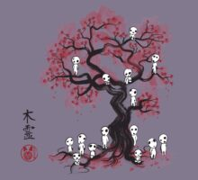 Forest Spirits sumi-e  Kids Clothes