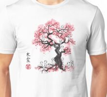 Forest Spirits sumi-e  Unisex T-Shirt