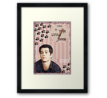My Teenwolfed Valentine[I'll be Your Little Spoon] Framed Print