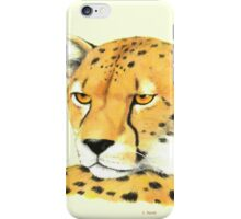 Portrait of a Cheetah iPhone Case/Skin