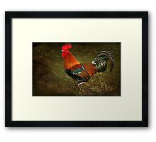 """Doin' the Two Step...Two Step....! "" Framed Print"