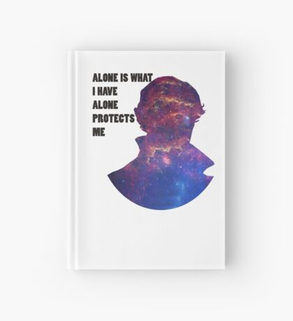 Alone Protects Me Hardcover Journal