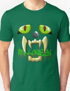 Scary Teeth and Eyes Halloween T-shirt, etc. design T-Shirt