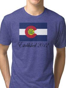 Colorado Marijuana 2012 Tri-blend T-Shirt