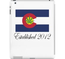 Colorado Marijuana 2012 iPad Case/Skin