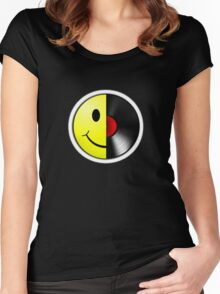 Acid House.  Women's Fitted Scoop T-Shirt