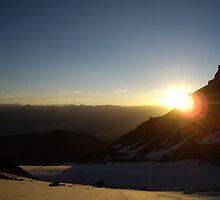 Sunrise Over the Himalayas by AidanN