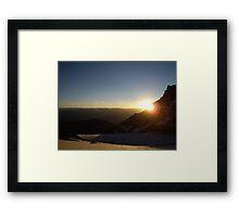 Sunrise Over the Himalayas Framed Print
