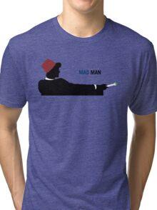 Mad Man (with a Box) Tri-blend T-Shirt