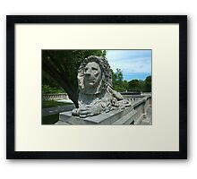 Milwaukee Lion Framed Print