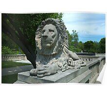 Milwaukee Lion Poster