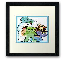 sacred monsters Framed Print