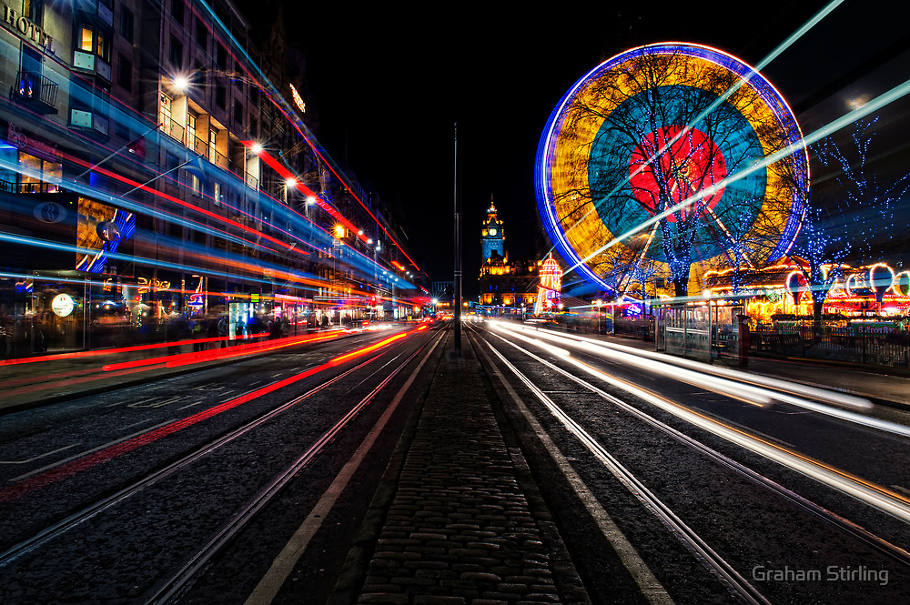 Speed of Lights by Graham Stirling