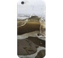 Macro Wave at the Beach iPhone Case/Skin