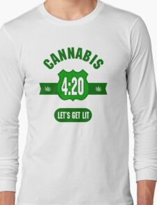 Cannabis 420 Long Sleeve T-Shirt