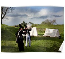 napoleonic re enactment Poster