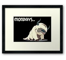Appa on Mondays V2 Framed Print