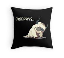 Appa on Mondays V2 Throw Pillow