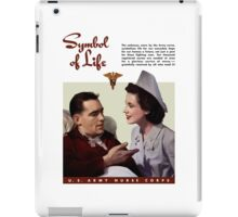 Symbol Of Life -- Army Nurse Corps WW2 iPad Case/Skin