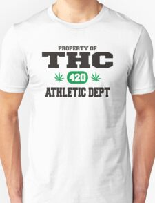 Marijuana THC Athletic Dept T-Shirt
