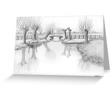 REAL DUTCH - PENCIL DRAWING Greeting Card