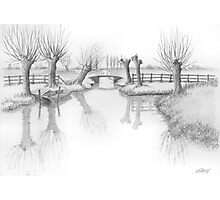 REAL DUTCH - PENCIL DRAWING Photographic Print