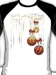 Decorative Xmas Balls T-Shirt