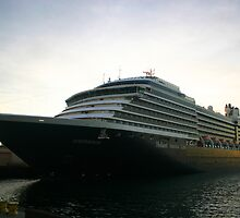 OOSTERDAM HOLLAND AMERICA by fsmitchellphoto