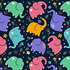 Elephant march by teenest