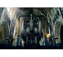 Organ at Exeter Cathedral Photographic Print