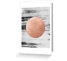 rose gold #1 Greeting Card
