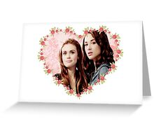 Hearted Allydia Greeting Card