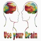 Use your brain- Art + Products Design  by haya1812