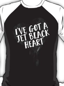 Jet Black Heart T-Shirt
