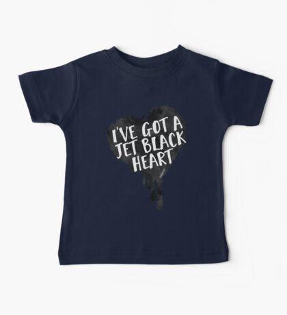Jet Black Heart Baby Tee