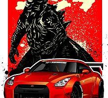 Liberty Walk Godzilla  by rizadeli