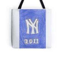 Yankees New Year Tote Bag