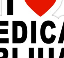 I Love Medical Marijuana Sticker