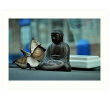 Buddha of  the traveler  Art Print