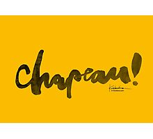 Chapeau! Photographic Print