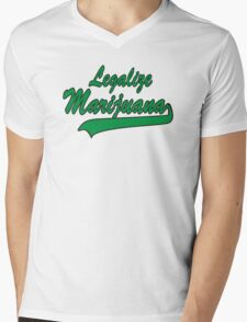Legalize It Mens V-Neck T-Shirt